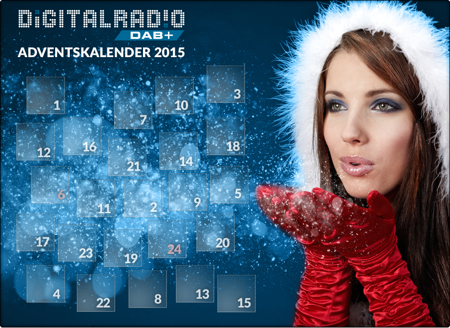 Digitalradio-Adventskalender startet auf www.digitalradio.de